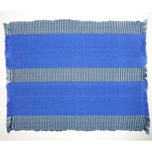 Other - Set of 6 - Blue Multi-Toned Striped Placemats